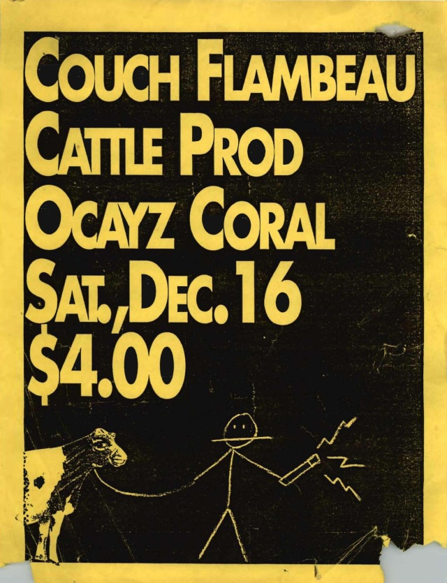 Couch Flambeau w Cattle Prod