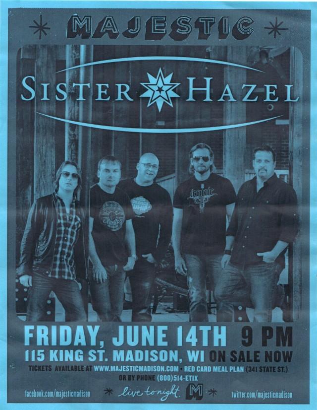 Sister Hazel Poster