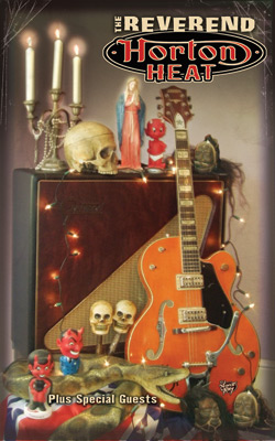 Reverend Horton Heat Tour Poster