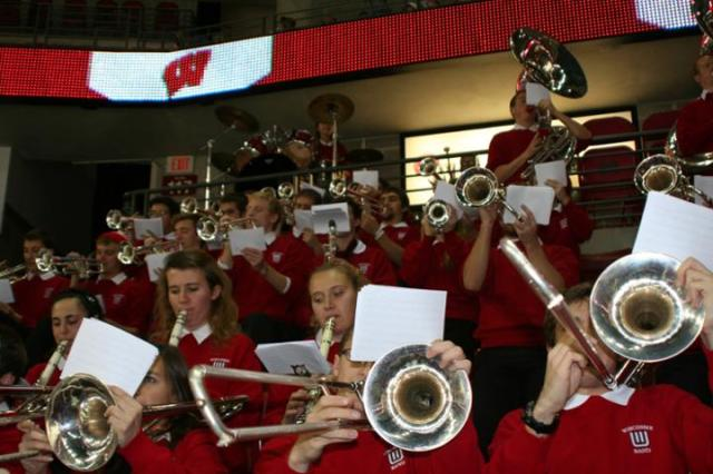 1423_Wisconsin_Pep_Band_at_Kohl_Center