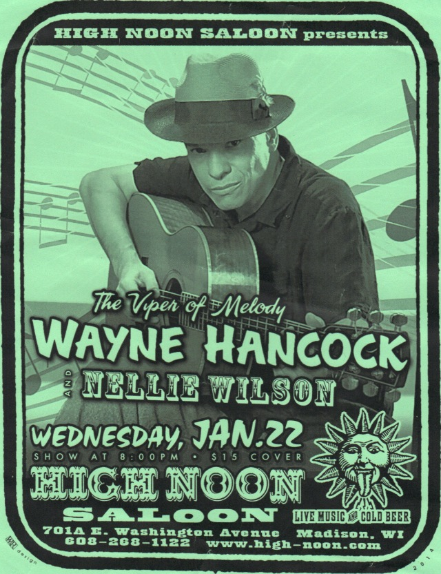 Wayne Hancock High Noon Saloon