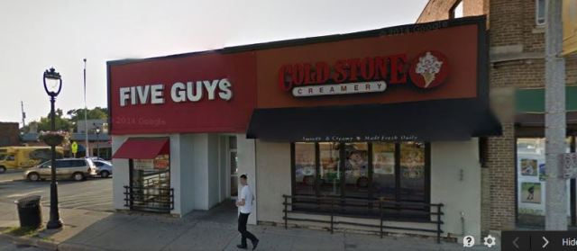 Five Guys Front