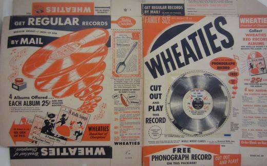 Wheaties Flexi Disc