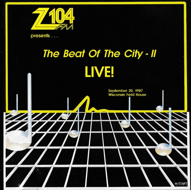 Z104 The Beat Of The City II Cover