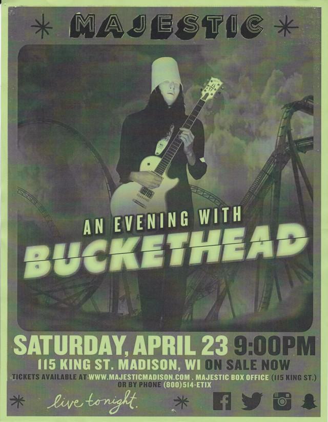 Buckethead Majestic 04232016