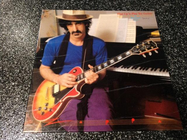 Frank Zappa - Shut Up And Play Your Guitar - Front